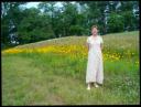 Mae in the fields