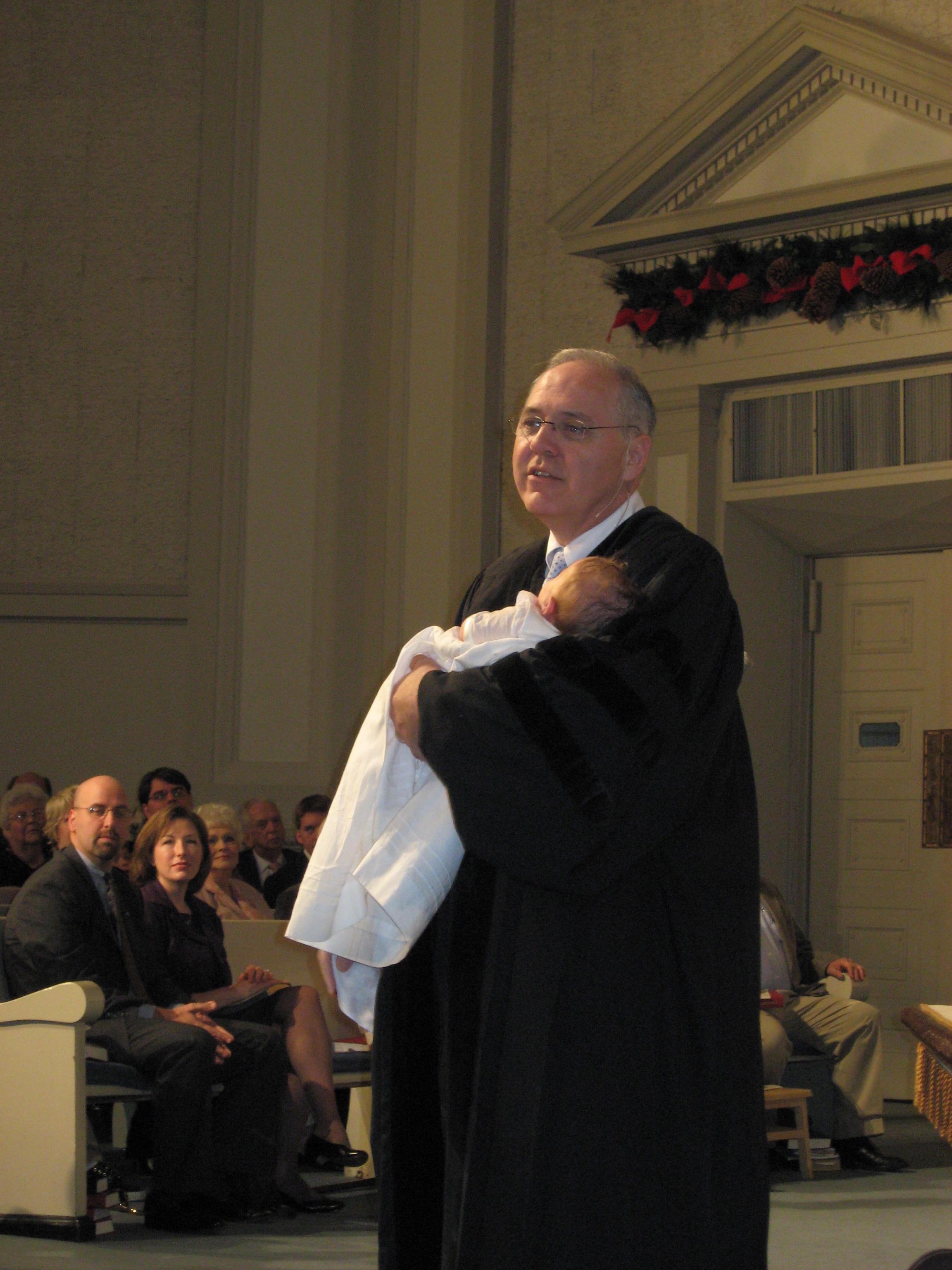 Farewell baptism